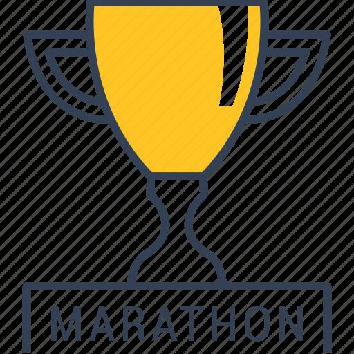 cup, cycling, marathon icon