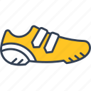 cycling, run, shoes icon
