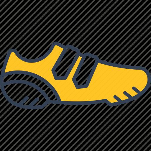 cycling, run, shoes icon