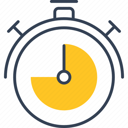 clock, cycling, timer icon