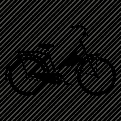 bicycle, bike, cycling, cyclist, touring bike icon