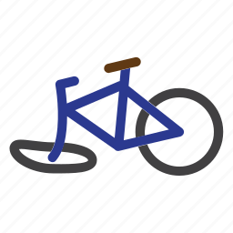 accident, bicycle, bike, broken, crash, cyclist icon