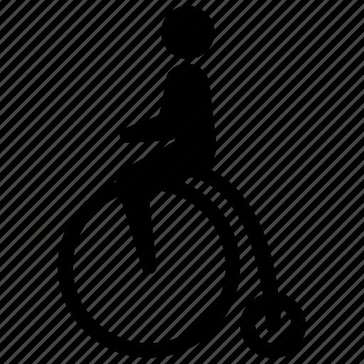 bicycle, bike, cyclist, eko, old, ride, vintage icon