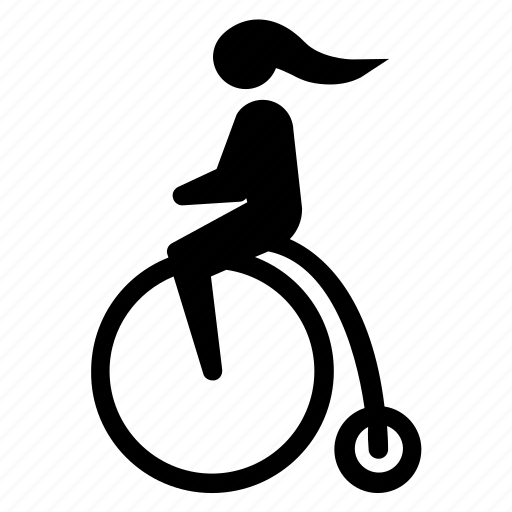 bicycle, bike, cyclist, eko, old, ride, vintage icon