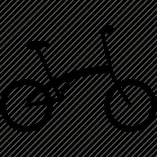 bicycle, bike, cycling, cyclist, flexible, folding, portable icon