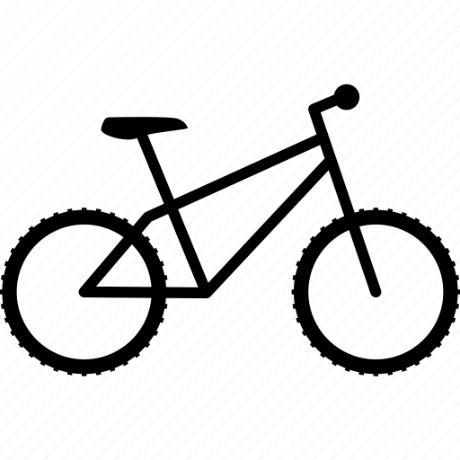 bicycle, bike, gear, mount, mountain, rough, tire icon