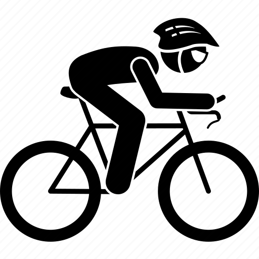 bicycle, bike, competition, cycling, cyclist, racing, sports icon