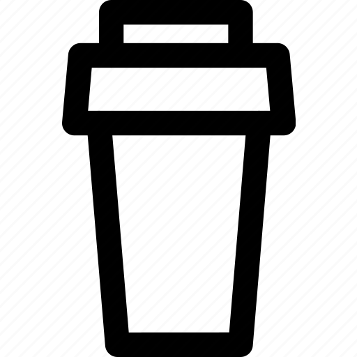 coffee, coffeeshop, coffeine, takeaway, to go icon