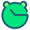 clock, date, lime, timer icon