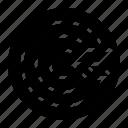 arrow, target, vision