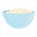 dairy, bowl, milk, white