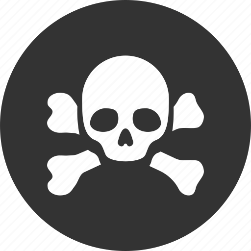 black spot, danger, dead head, death, pirate, poison, skull icon