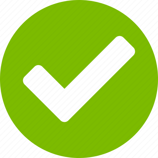 accept, apply, approve, ok, select, success, yes icon