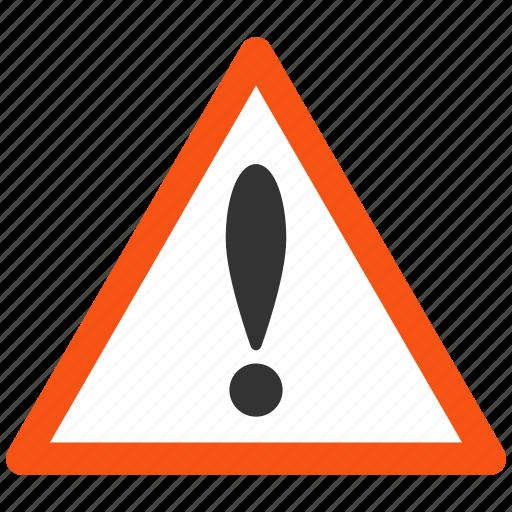 alarm, alert, attention, caution, damage, danger, error, exclamation, hazard, problem, protection, risk, safe, safety, warning icon