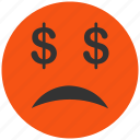 angry, avatar, bad, bankrupt, bankruptcy, character, client, emoticon, emotion, face, fail, happy, problem, sad, smile, smiley, warning icon