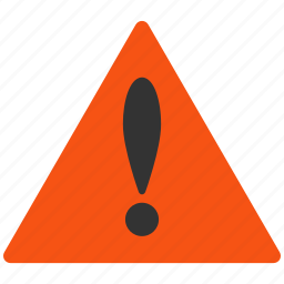 alarm, alert, attention, caution, damage, danger, exclamation, hazard, problem, protection, risk, safe, safety, warning icon