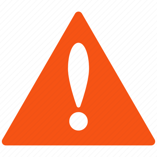 alarm, alert, attention, caution, damage, danger, error, exclamation, hazard, message, problem, protection, risk, safe, safety, warning icon
