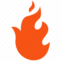alarm, alert, attention, burn, caution, damage, danger, exclamation, fire, flame, hazard, hot, problem, protection, risk, safe, safety, warning icon
