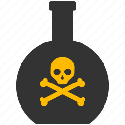 alarm, alert, attention, caution, chemical, chemistry, damage, danger, dead, death, eco, ecology, environment, exclamation, hazard, industrial, poison, problem, protection, risk, safe, safety, toxic, warning icon