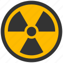 alarm, alert, atomic, attention, caution, damage, danger, exclamation, hazard, nuclear, problem, protection, radiation, radioactive, risk, rossi, safe, safety, warning icon