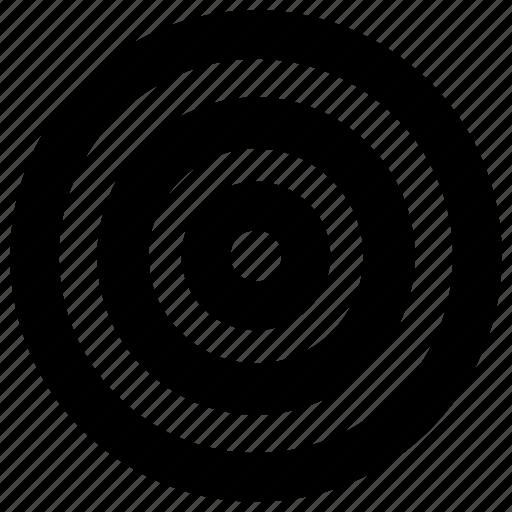 Aim, bullseye, goal, target icon - Download on Iconfinder