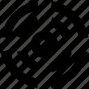 dartboard, focus, shooting, target icon