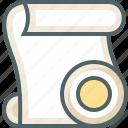 paper, record, script icon