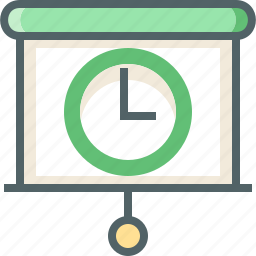show, slide, timer icon