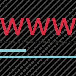 abstract, data, design, digital, online, visit, web icon