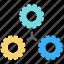 business, cogwheel, engineering, gear, industry, mechanism, teamwork