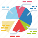 graphical, finances, business, marketing, statistics icon