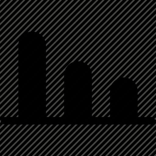 bar chart, histogram, statistics icon