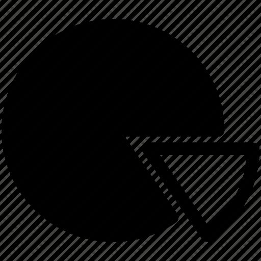 analysis, pie, pie chart, statistics icon