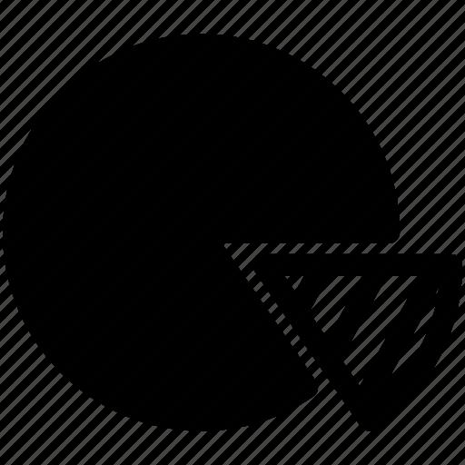 chart, pie, pie chart icon