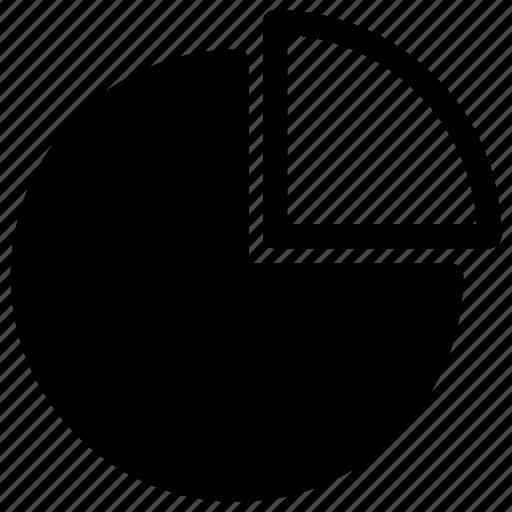 analysis, chart, pie, pie chart, statistics icon