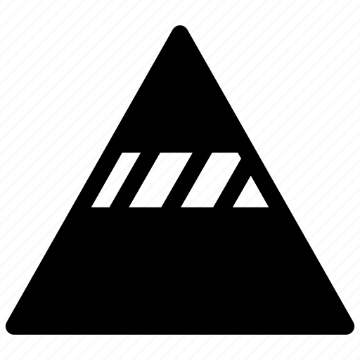 analysis, pyramide, pyramide chart, statistics icon