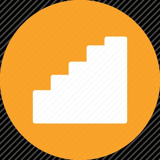 bar chart, bars, histogram, statistics icon