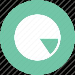 analysis, data, data science, graph, pie, pie chart icon