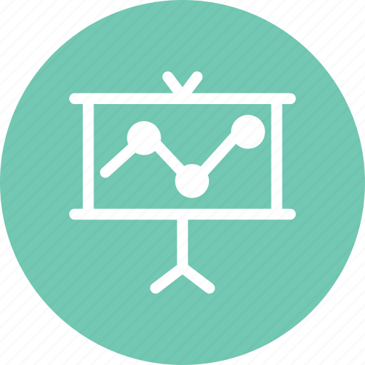 board, chart, forex, graph, presentation, stocks icon