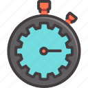 business, countdown, start, stopwatch, time, timer, watch icon