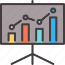 business, chart, data, diagram, graph, presentation icon