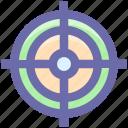 aim, focus, goal, target, dartboard