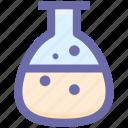 .svg, bottle, chemical, lab, laboratory, medical bottle, test bottle icon