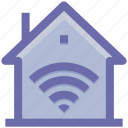 home, wifi, house, signals, internet, home network