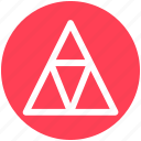 .svg, creative, point, pointer, shape, triangle icon