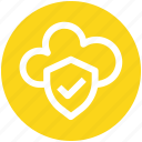 .svg, accept, cloud, cloud accept, protection, secure, security icon