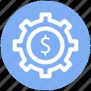 .svg, cog, cogwheel, dollar, gear, gearwheel, preferences