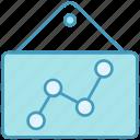 analytics, bars, board, data analytics, graph, report, stabilization icon