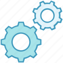 cogwheel, data, data analytics, gear, process, settings, setup icon