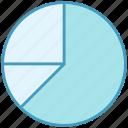 business, data analytics, diagram, graph, pie chart, statistics icon